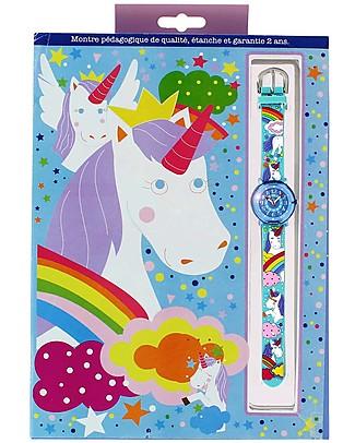 BabyWatch Zap Orologio Pedagogico - Unicorno (Perfetto già dai 6 anni!) Orologi Pedagogici