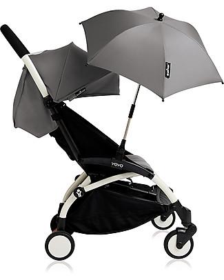 Babyzen Ombrello Parasole Yoyo, Argento - Compatibile con qualunque passeggino o carrozzina Babyzen Accessori