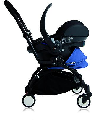 Babyzen Seggiolino Auto Ovetto Gruppo 0+ iZi Go Modular by BeSafe per Passeggino Yoyo Babyzen, Nero Seggiolini Auto per Neonati