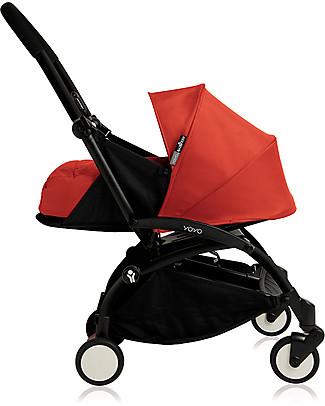 Babyzen Set Rivestimento/Amaca per Navicella Yoyo, 0+ mesi, Rosso (telaio non incluso) Passeggini