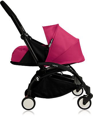 Babyzen Set Rivestimento per Navicella Yoyo, 0+ mesi, Rosa - Ultimo Pezzo! Passeggini
