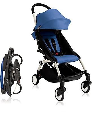 Babyzen Set Rivestimento per Passeggino Yoyo, 6+ mesi, Blu Passeggini