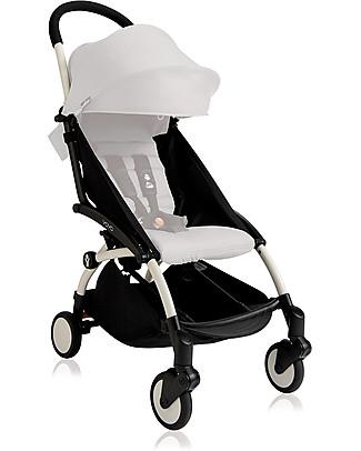 Babyzen Telaio Passeggino Babyzen Yoyo+, Bianco – Include borsa e cinghia di trasporto e parapioggia! Passeggini