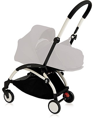 Babyzen Telaio Passeggino Babyzen Yoyo+, Bianco - Include borsa, cinghia di trasporto e parapioggia! Passeggini Leggeri
