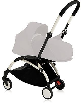Babyzen Telaio Passeggino Babyzen Yoyo+, Bianco - Include borsa e cinghia di trasporto e parapioggia! Passeggini