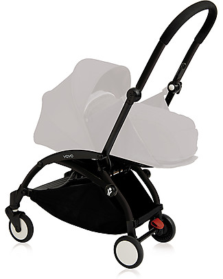 Babyzen Telaio Passeggino Babyzen Yoyo+, Nero – Include borsa e cinghia di trasporto e parapioggia! Passeggini