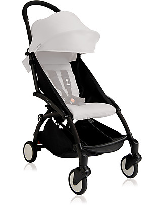 Babyzen Telaio Passeggino Babyzen Yoyo+, Nero - Include borsa, cinghia di trasporto e parapioggia! Passeggini Leggeri