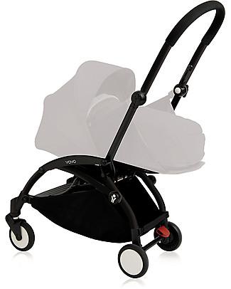 Babyzen Telaio Passeggino Babyzen Yoyo+, Nero - Include borsa e cinghia di trasporto e parapioggia! Passeggini