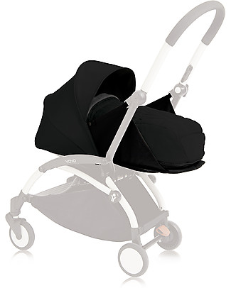 Babyzen Textile Set for Babyzen Pram Yoyo, 0+ months, Black Pushchairs