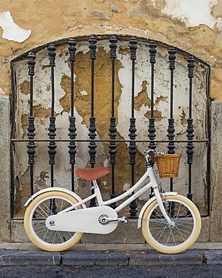 Banwood Bicicletta Classic Con Pedali, Bianco - Da 3 a 7 Anni Biciclette