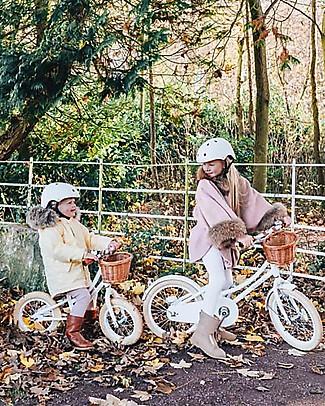 Banwood Bicicletta Classic Con Pedali + Casco, Bianco - Da 4 a 7 Anni Biciclette