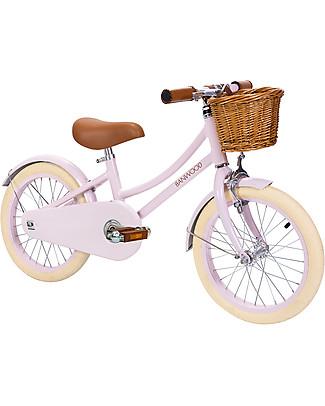 Banwood Bicicletta Classic Con Pedali, Rosa - Da 3 a 7 Anni Biciclette