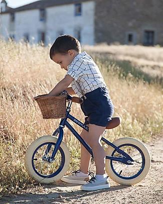 Banwood Bicicletta Senza Pedali First Go, Blu - Per Bambini da 3 a 5 anni! Biciclette Senza Pedali