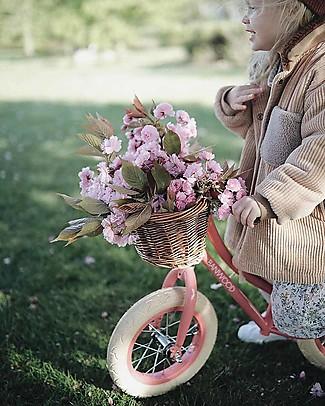 Banwood Bicicletta Senza Pedali First Go con Casco, Corallo - da 3 a 5 anni! Biciclette Senza Pedali