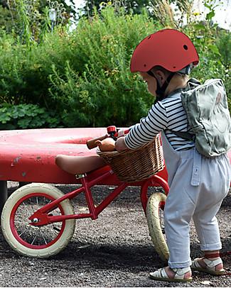 Banwood Bicicletta Senza Pedali First Go con Casco, Rosso - da 3 a 5 anni! Biciclette Senza Pedali