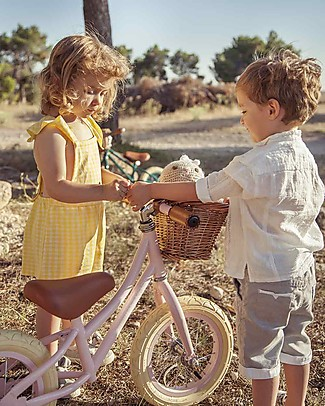 Banwood Bicicletta Senza Pedali First Go, Rosa - Per Bambine da 3 a 5 anni! Biciclette Senza Pedali
