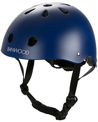 Banwood Casco Classico per Biciclette, Blu - Per Bambini da 3 a 7 Anni! Biciclette Senza Pedali