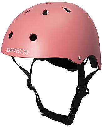 Banwood Casco Classico per Biciclette, Corallo - Per Bambini da 3 a 7 Anni! Biciclette Senza Pedali