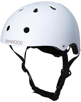 Banwood Casco Classico per Biciclette, Sky - Per Bambini da 3 a 7 Anni! Biciclette Senza Pedali