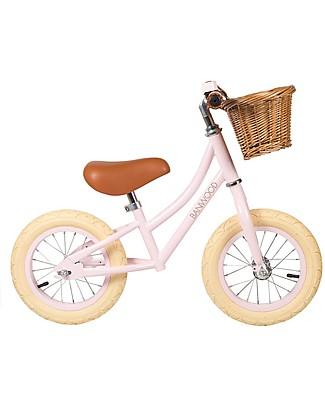 Banwood OUTLET - Bicicletta Senza Pedali First Go, Rosa - Per Bambine da 3 a 5 anni! Biciclette