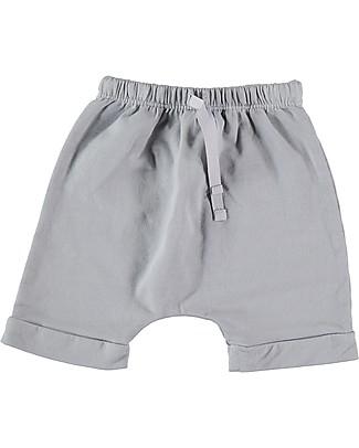 Bean's Barcelona Shorts in Felpa Corfù, Grigio - Cotone bio Pantaloni Corti