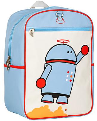 Beatrix NY Zaino Grande 27,5 x 38 x 15 cm, Robot - Perfetto per la scuola! Zaini