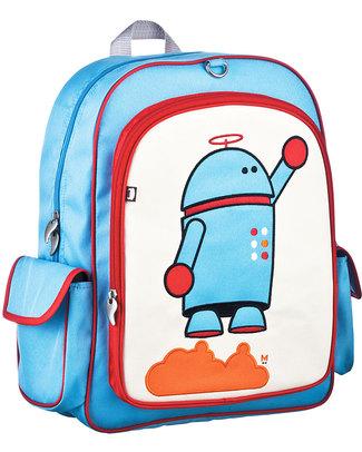 Beatrix NY Zaino Grande Alexander Il Robot - Robusto, Durevole e Atossico (perfetto per la scuola!) Zaini