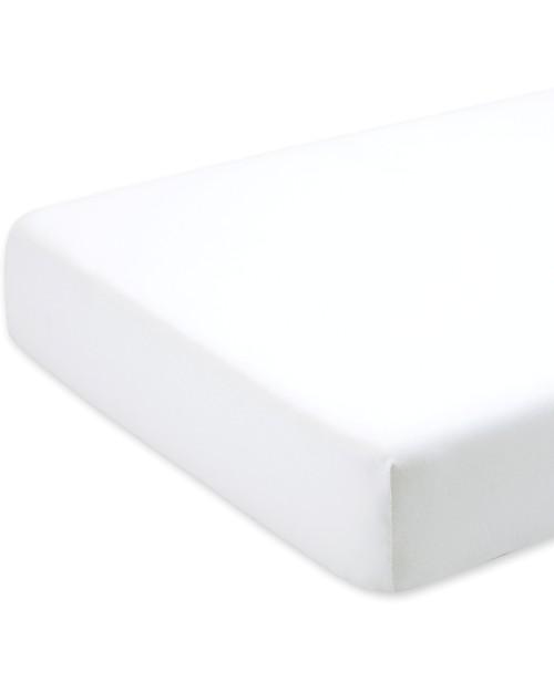 Bemini Coprimaterasso 70x140 cm, Ecru - 100% cotone Lenzuola