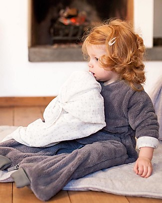 Bemini Sacco Nanna MAGIC BAG® Softy 9-24 mesi, Grizou - Invernale Sacchi Nanna Pesanti
