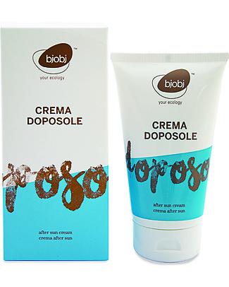 Bjobj Bjobj Crema Doposole Bio - 150 ml, Fresca e Naturale! Solari