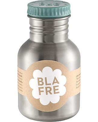 Blafre Borraccia in Acciaio Inox 300 ml, Azzurro - Senza BPA né ftalati! null