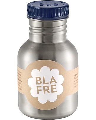Blafre Borraccia in Acciaio Inox 300 ml, Blu Notte - Senza BPA né ftalati! Borracce Metallo