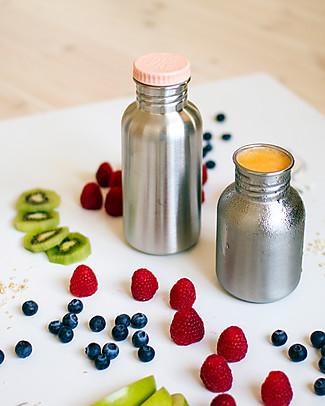 Blafre Borraccia in Acciaio Inox 500 ml, Prugna - Senza BPA né ftalati! Borracce Metallo