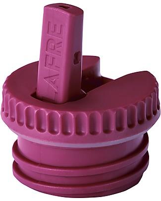 Blafre Cap with Spout, Plum - Suitable for all Blafre bottles! Metal Bottles