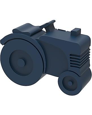 Blafre Porta Pranzo 2 Scomparti, Trattore 21,5 x 18 x 7 cm- Senza BPA o ftalati Contenitori in Metallo