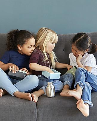 Blafre Porta Pranzo Trattore 14 x 10 x 6 cm - Senza BPA o ftalati Contenitori Latte e Snack