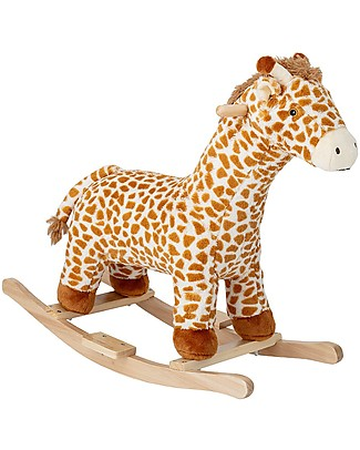 Bloomingville Rocking Giraffe, Multicolor - Poplar Wood Rides On
