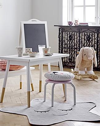 Bloomingville Tappeto Stella, Bianco - 100 cm Tappeti