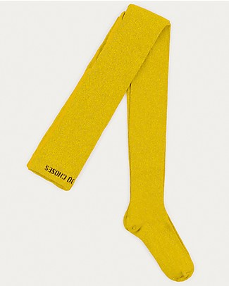Bobo Choses Collant Lurex, Giallo - Luminosi! Calze