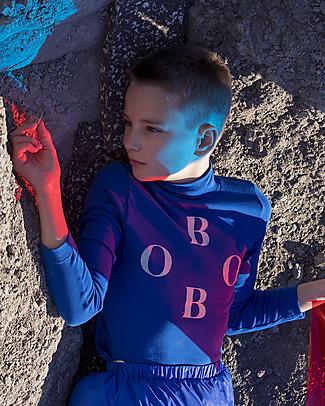 Bobo Choses Maglia a Collo Alto, Bobo Turtle - Cotone Bio Maglie Manica Lunga