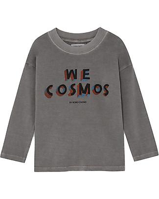 Bobo Choses Maglia a Maniche Lunghe, We Cosmos - 100% Cotone Bio Maglie Manica Lunga