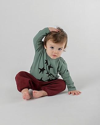Bobo Choses Maglia Baby a Maniche Lunghe, Stars - 100% Cotone Bio Maglie Manica Lunga