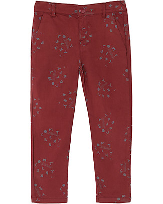 Bobo Choses Pantaloni Chino, All Over Comet - Per Ogni Occasione! Pantaloni Lunghi