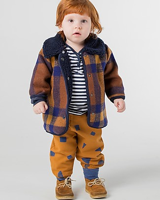 Bobo Choses Pantaloni da Jogging, All Over Stuff - Cotone Bio Elasticizzato Pantaloni Corti