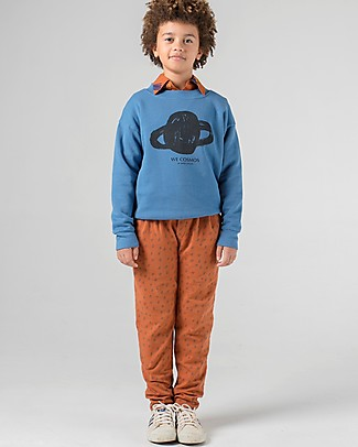 Bobo Choses Pantaloni Track Pants, All Over Stars - Chic ma Casual! Pantaloni Lunghi