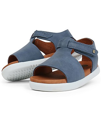 Bobux I-Walk Mirror Sandal, Denim - Super flexible sole! Shoes