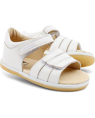 Bobux Sandalino I-Walk Classic Spring, Bianco - Suola super flessibile! Scarpe