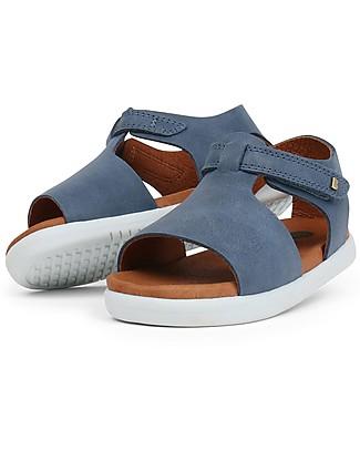 Bobux Sandalino I-Walk Mirror, Jeans - Suola super flessibile Scarpe