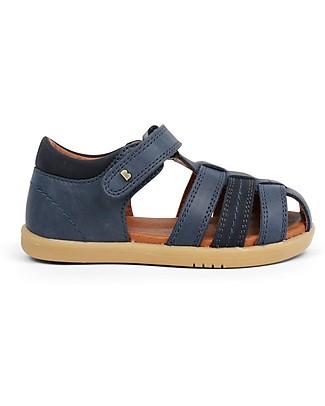 Bobux Sandalino I-Walk Roam, Navy Blu – Suola super flessibile! Scarpe
