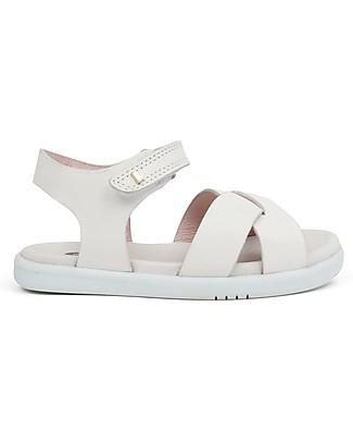 Bobux Sandalino I-Walk Roman, Bianco - Suola super flessibile! Scarpe